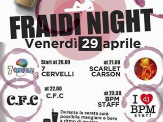 fRaiDi Night
